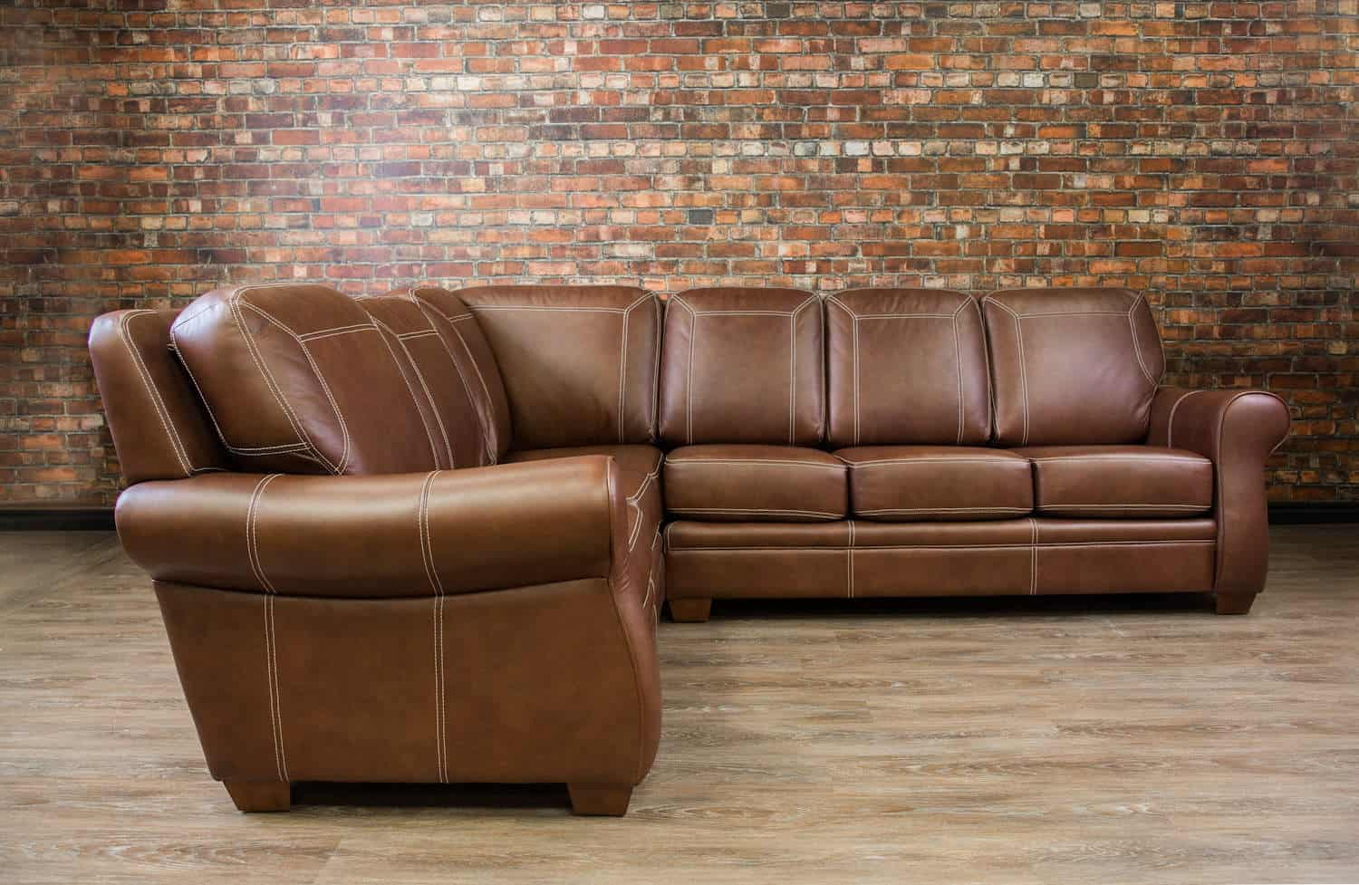 The Humber Leather Sectional Canada S Boss Leather Sofas