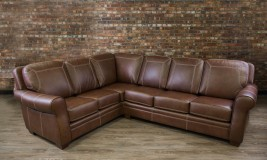 leather sectional humber