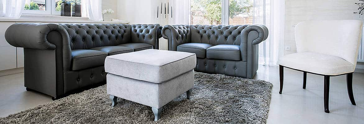 Platinum Tufted Buttoned Accent Chair Rolled Arms