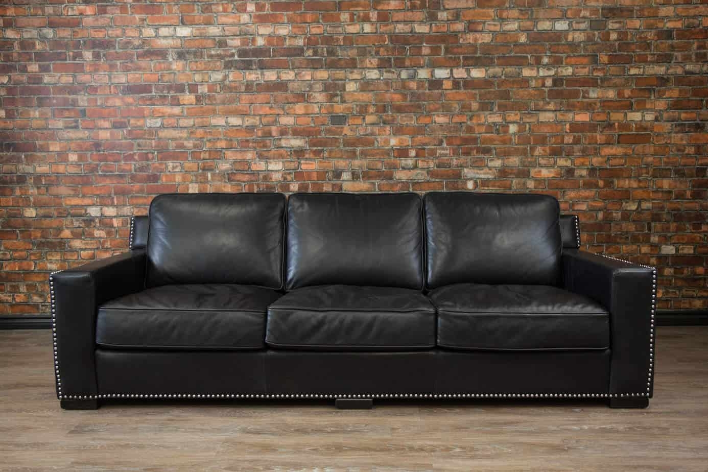 Collingwood Deep Seat Leather Sofa Canada 39 S Boss Leather Sofas And Furniture