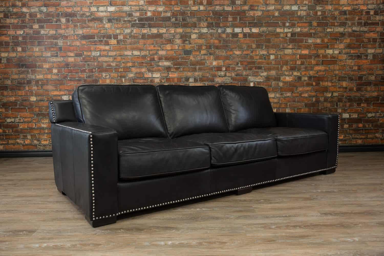 Collingwood Deep Seat Leather Sofa Canada S Boss Leather