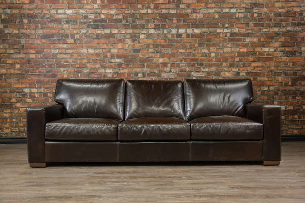 leather sofa sectional choose color leather size. Black Bedroom Furniture Sets. Home Design Ideas