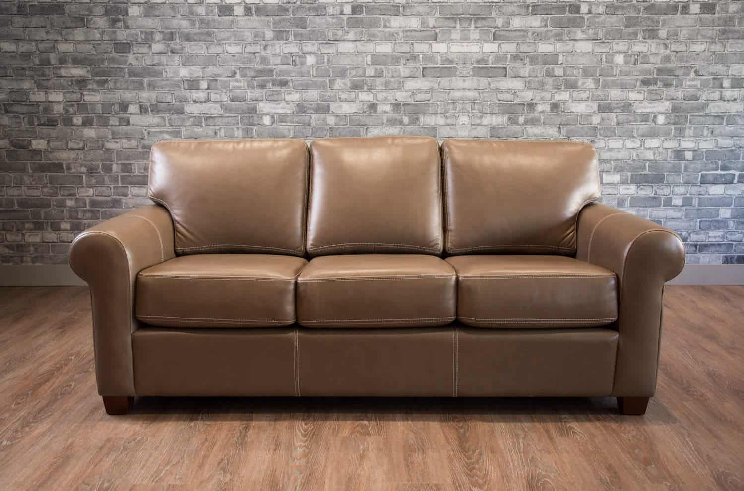 The martin leather sofa canada 39 s boss leather sofas and for Home styles furniture canada
