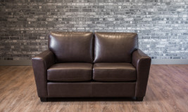 leather loveseats bolton