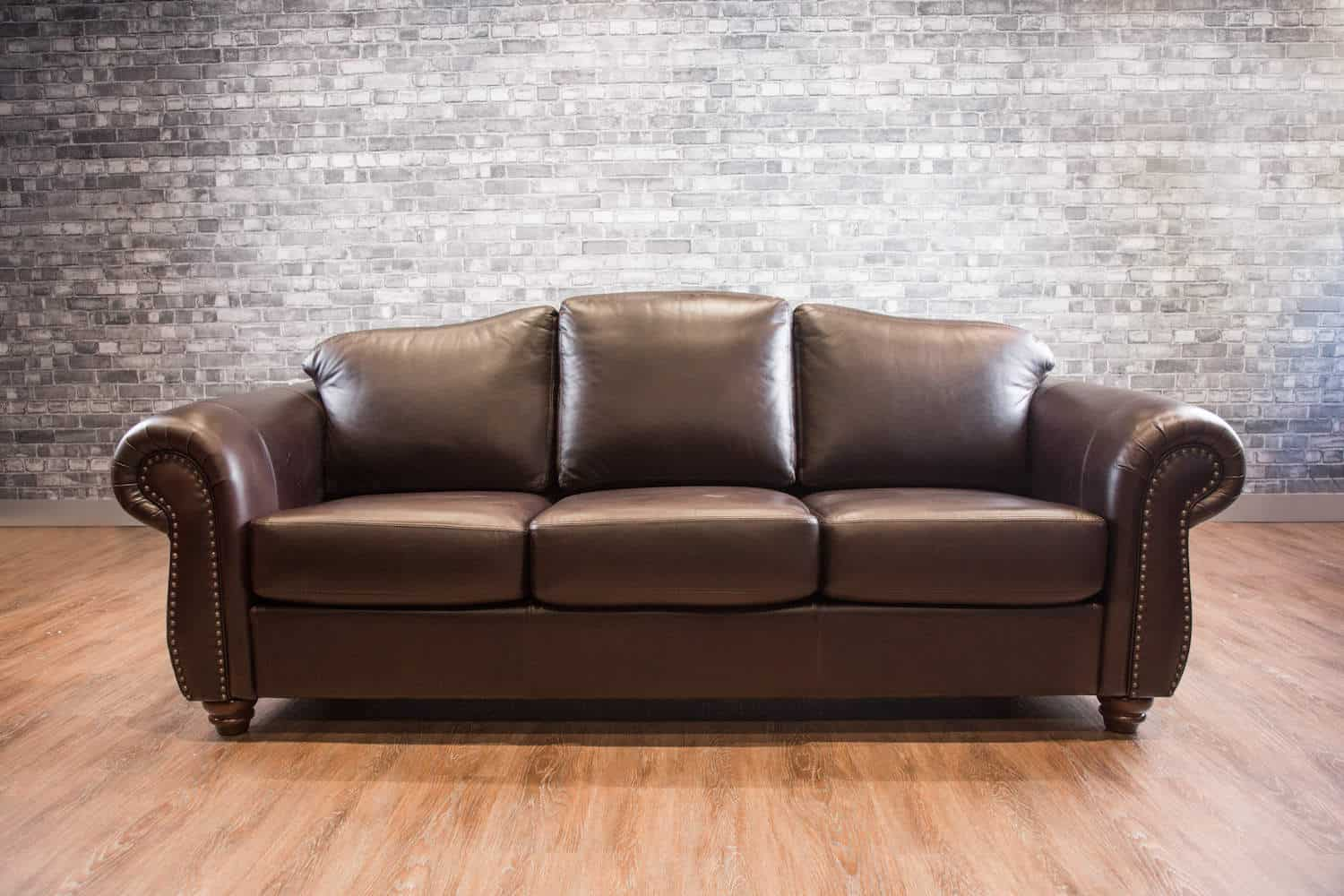 The utah leather sofa canada 39 s boss leather sofas and for Traditional leather sofas furniture