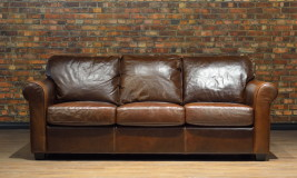 LEATHER SOFA DUKE