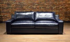 leather sofa capris