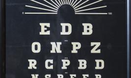 vintage eye chart 2