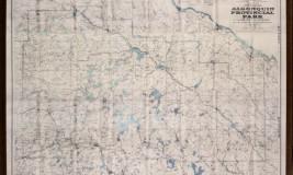 Map Algonquin park
