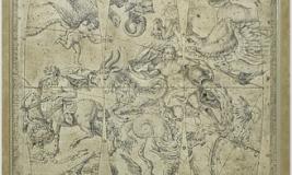1763 CELESTIAL GLOBE II #14649 Size: 24X36