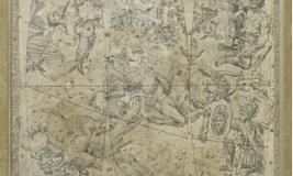 1763 CELESTIAL GLOBE I #14648 Size: 24X36