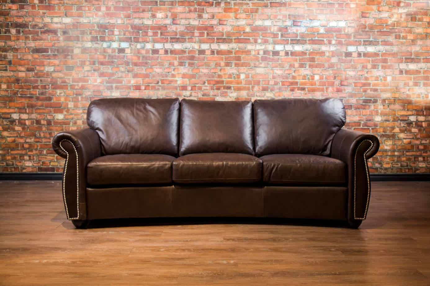 denver curved sofa canada 39 s boss leather sofas and furniture