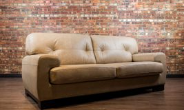 Nova leather sofa