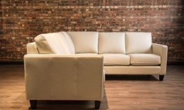 classic leather sectional