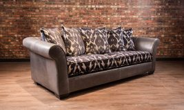 Sir Samuel Leather Sofa