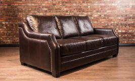el paso leather sofa