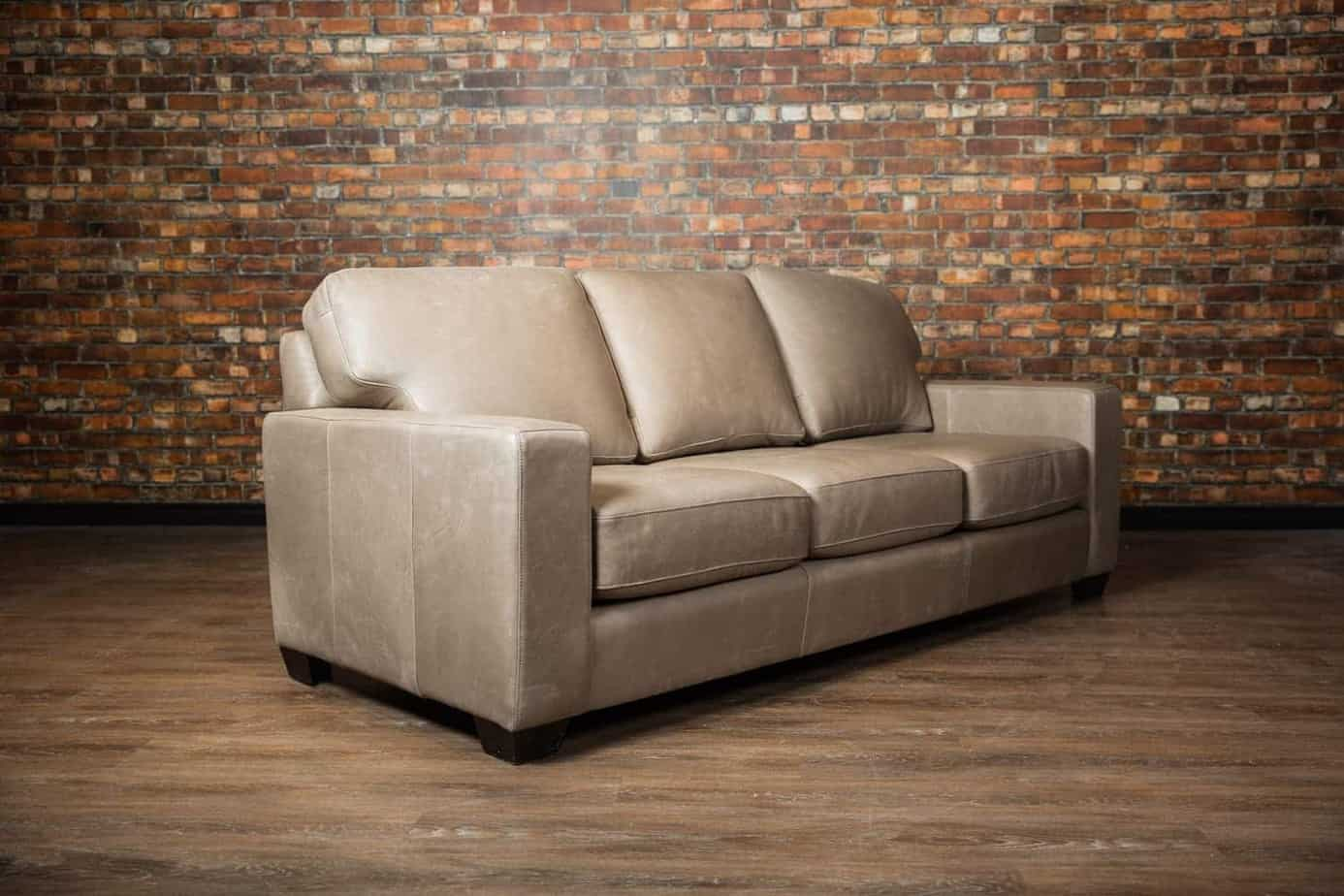 The mesa leather sofa bed collection canada39s boss for Leather sectional sofa bed canada