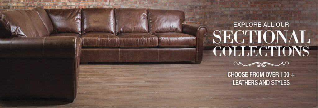 Genuine Leather Sectional Sofas Toronto Customize Made