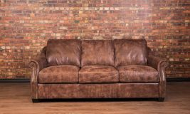 Iowa leather sofa