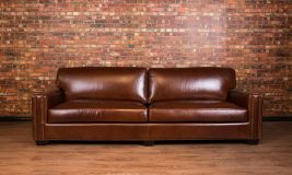 Chartwell leather sofa
