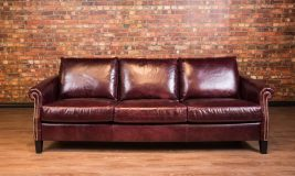 Esquire leather sofa
