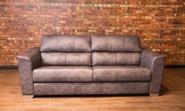 cosmos leather sofa