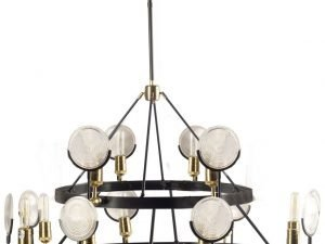 The Langford Circle Chandelier