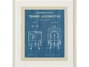 Locomotive print