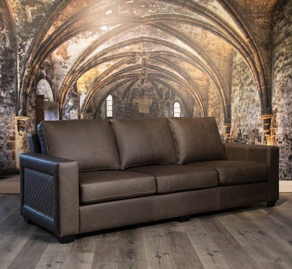 elegante leather sofas