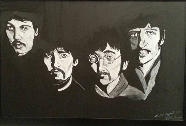 the beatles four
