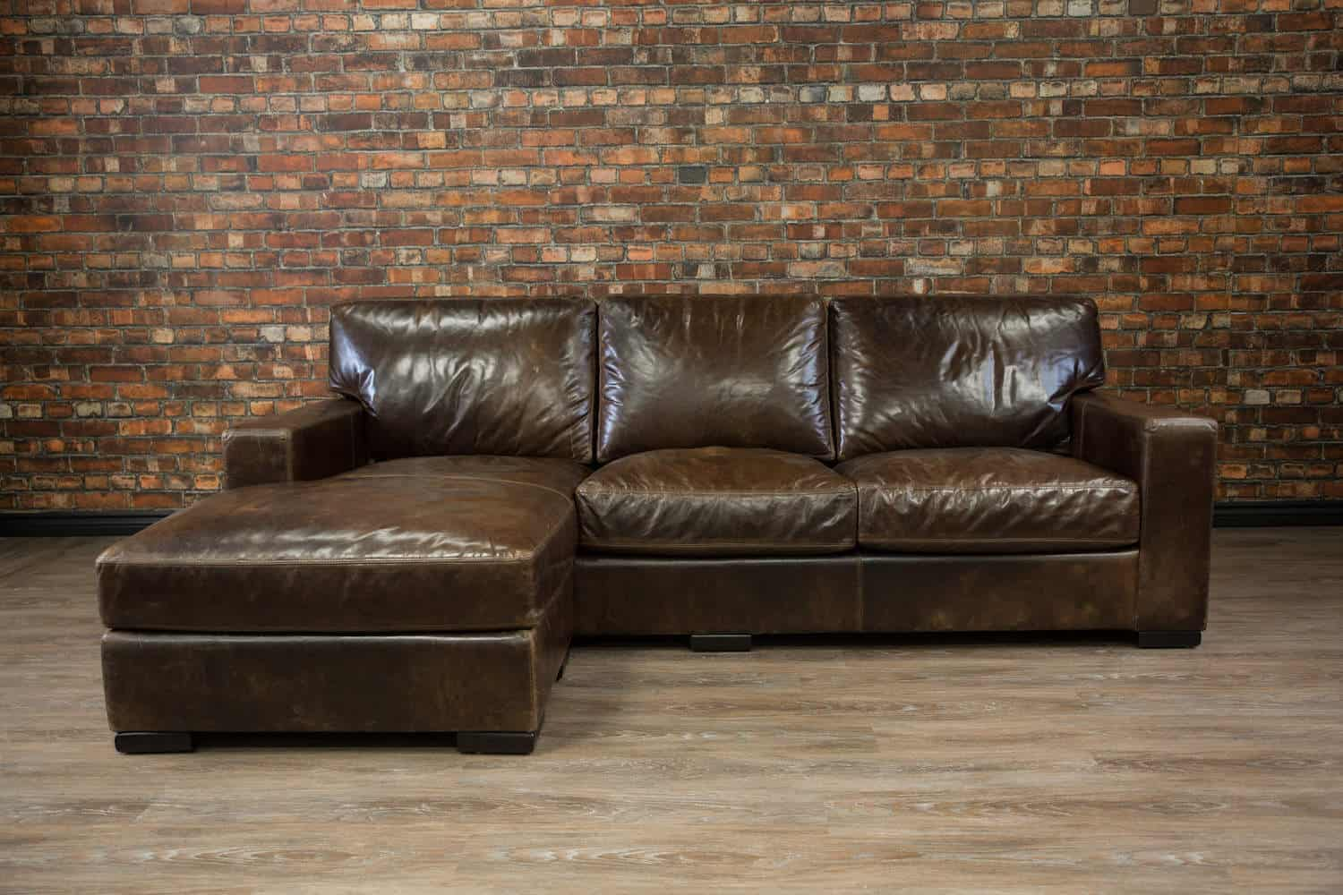 Maxell Deep Seat Leather Chaise Canada S Boss Leather