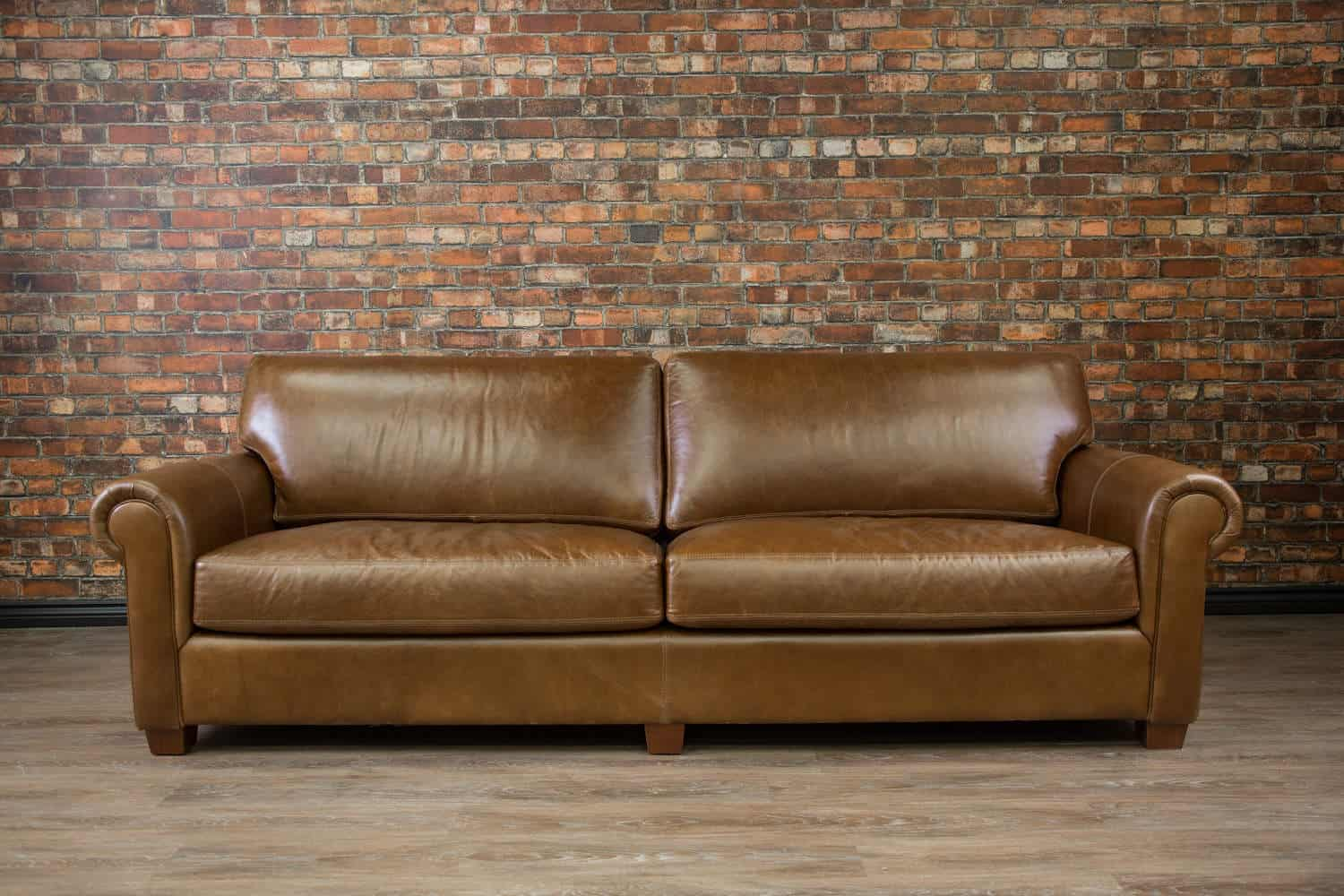 Leather Sofas Lancelot Deep Seat