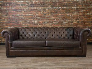 Leather sofa King Arthur