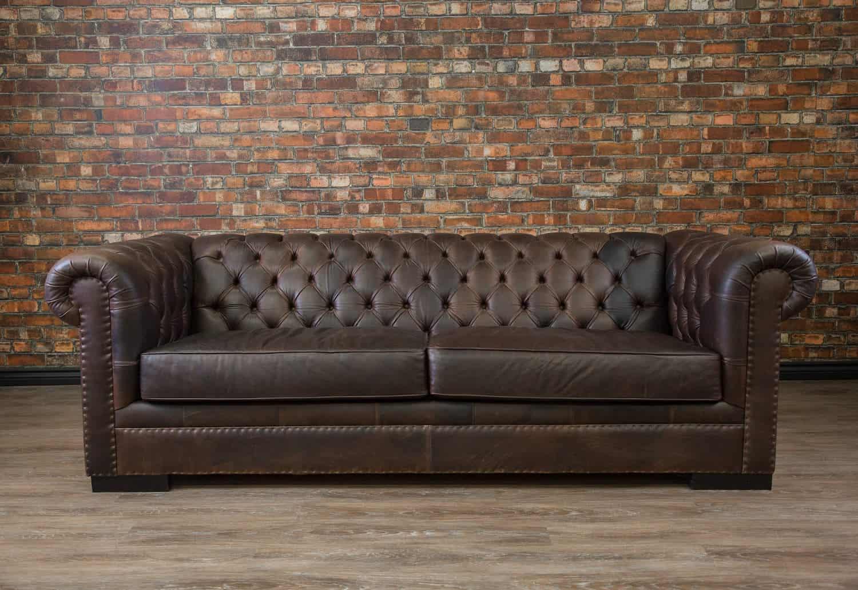 Leather Sofa King Arthur