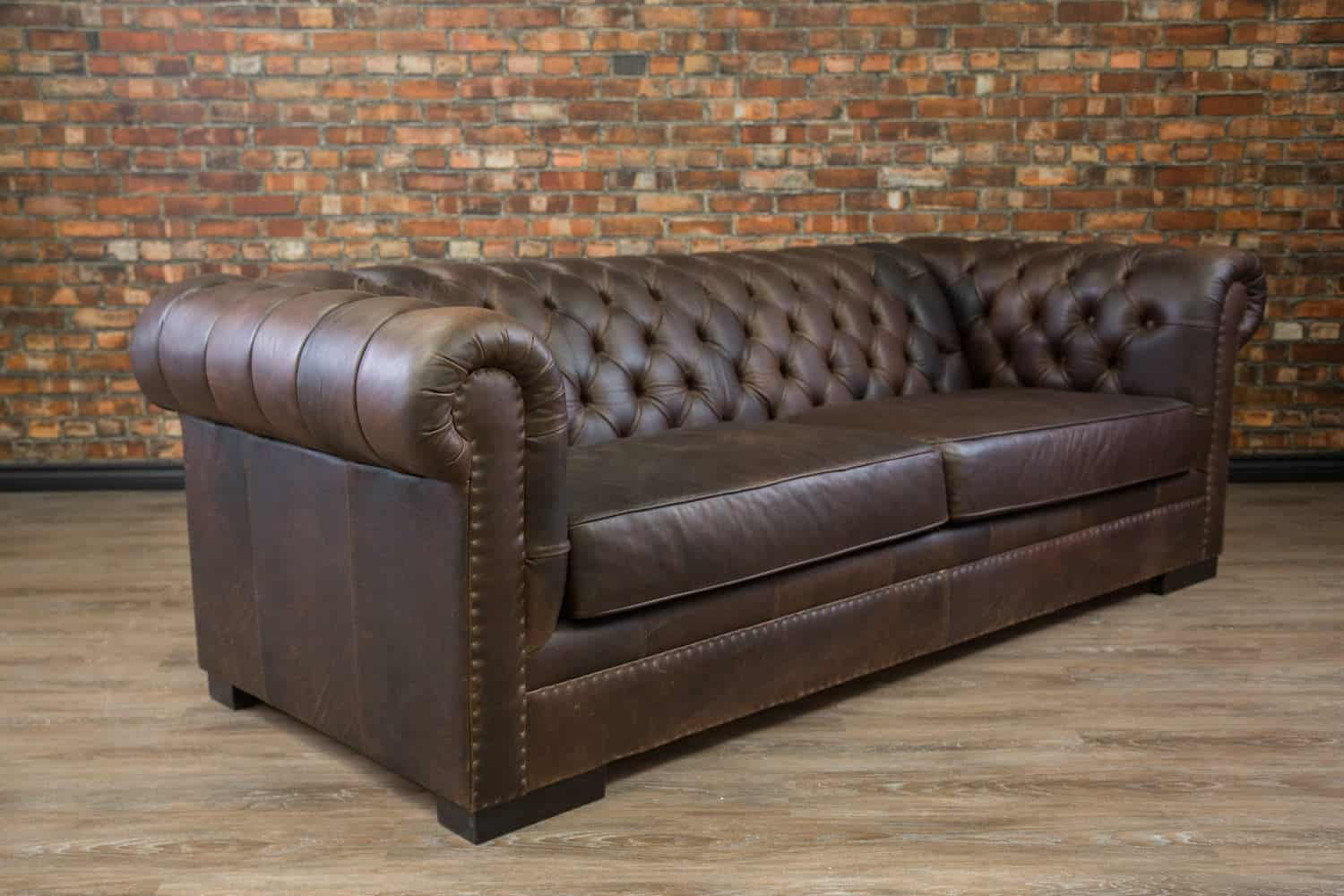 The King Arthur Leather Sofa Canada S Boss Leather Sofas