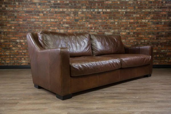 leather sofa loft