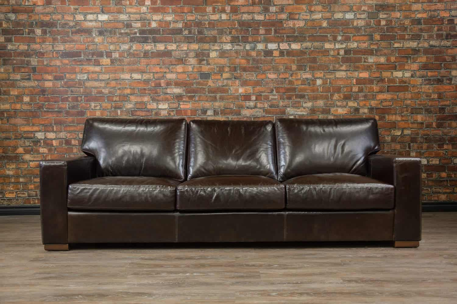 Leather Sofa Amp Leather Sectional Custom Made In Canada