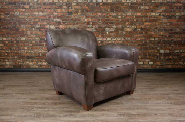 leather chair bachelor chair
