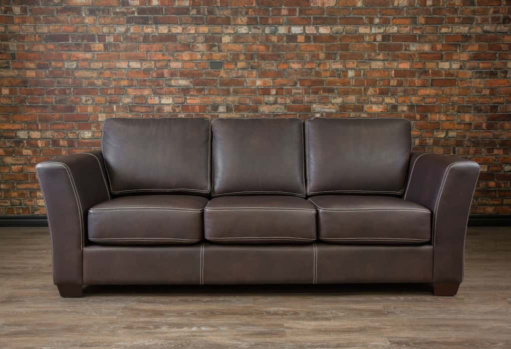 The Aspen Leather Sofa Canada S Boss Leather Sofas And
