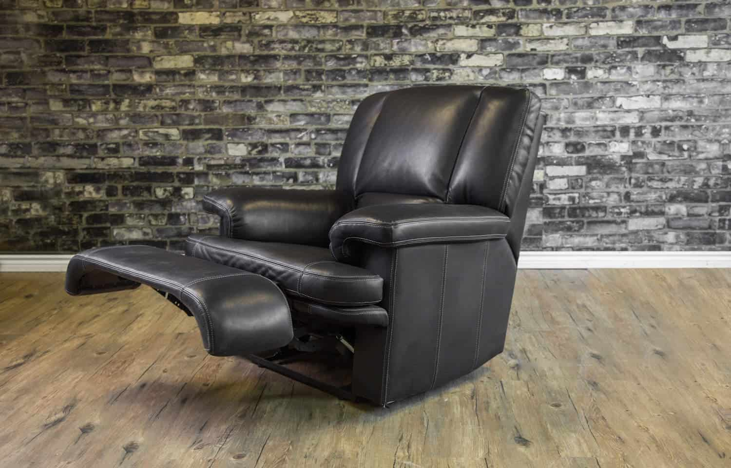 The Denmark Leather Reclining Chair Collection Canada S