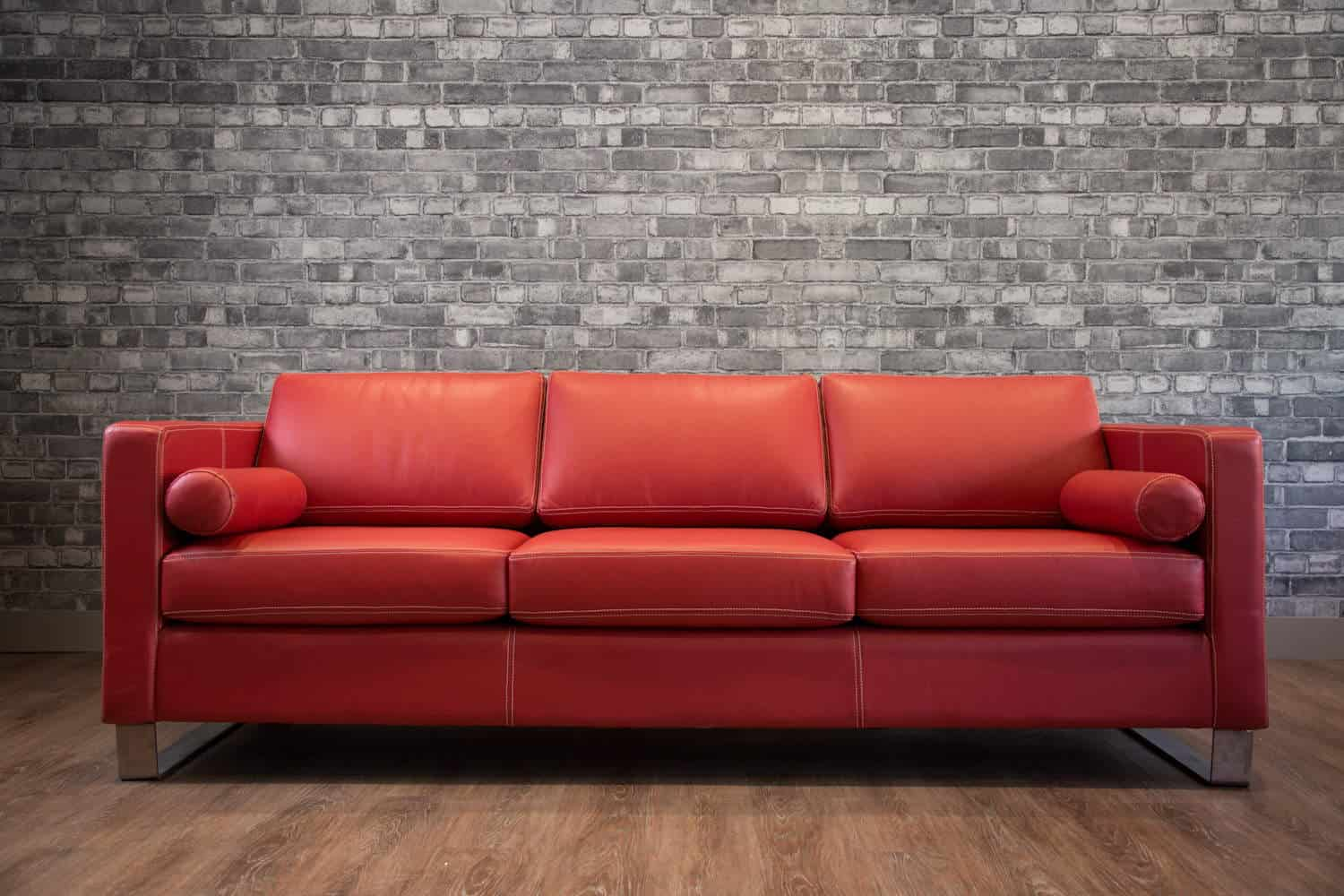 The Trento Leather Sofa Canada S Boss Leather Sofas And