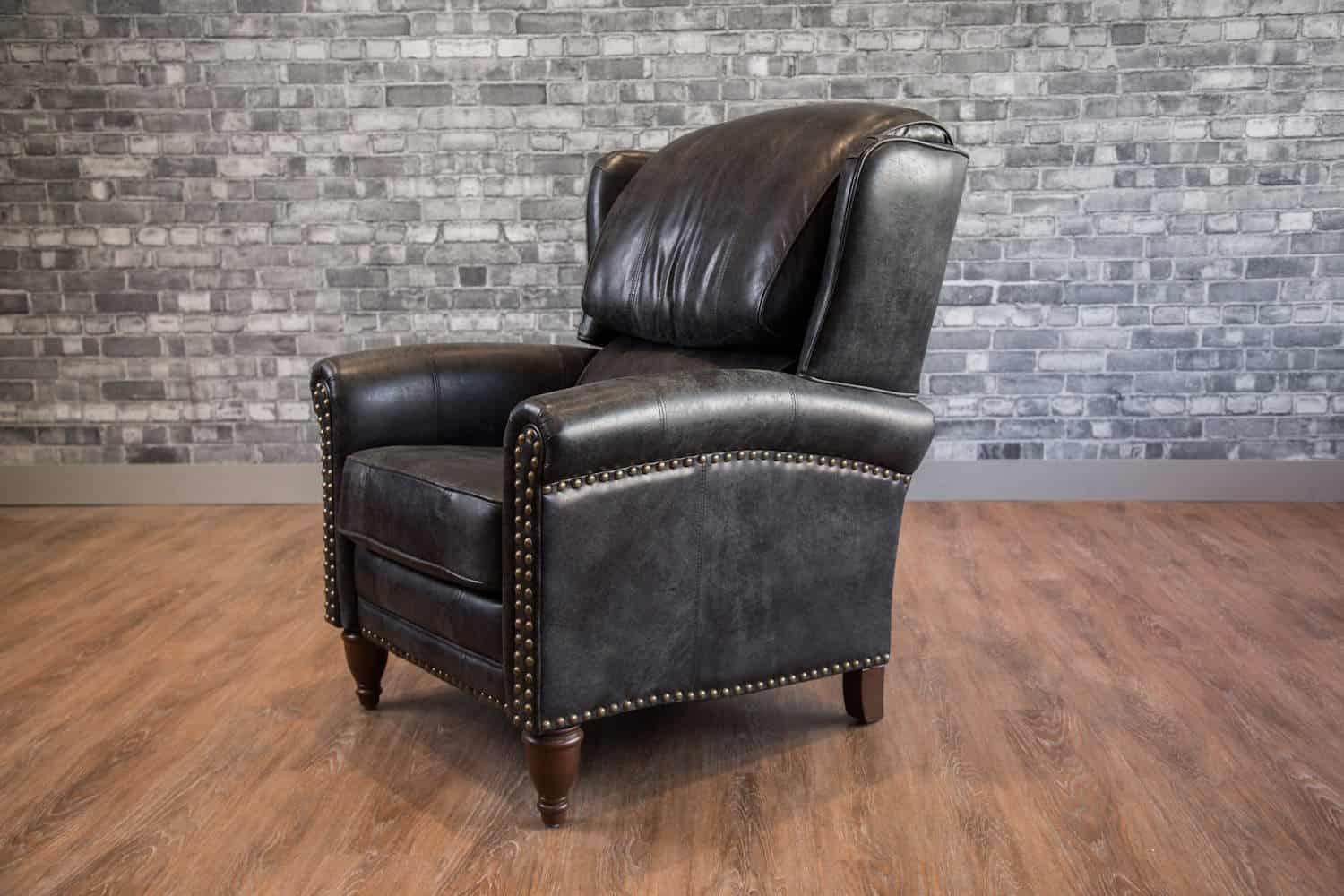 The Jameson Recliner Wingback Leather Chair Canada S