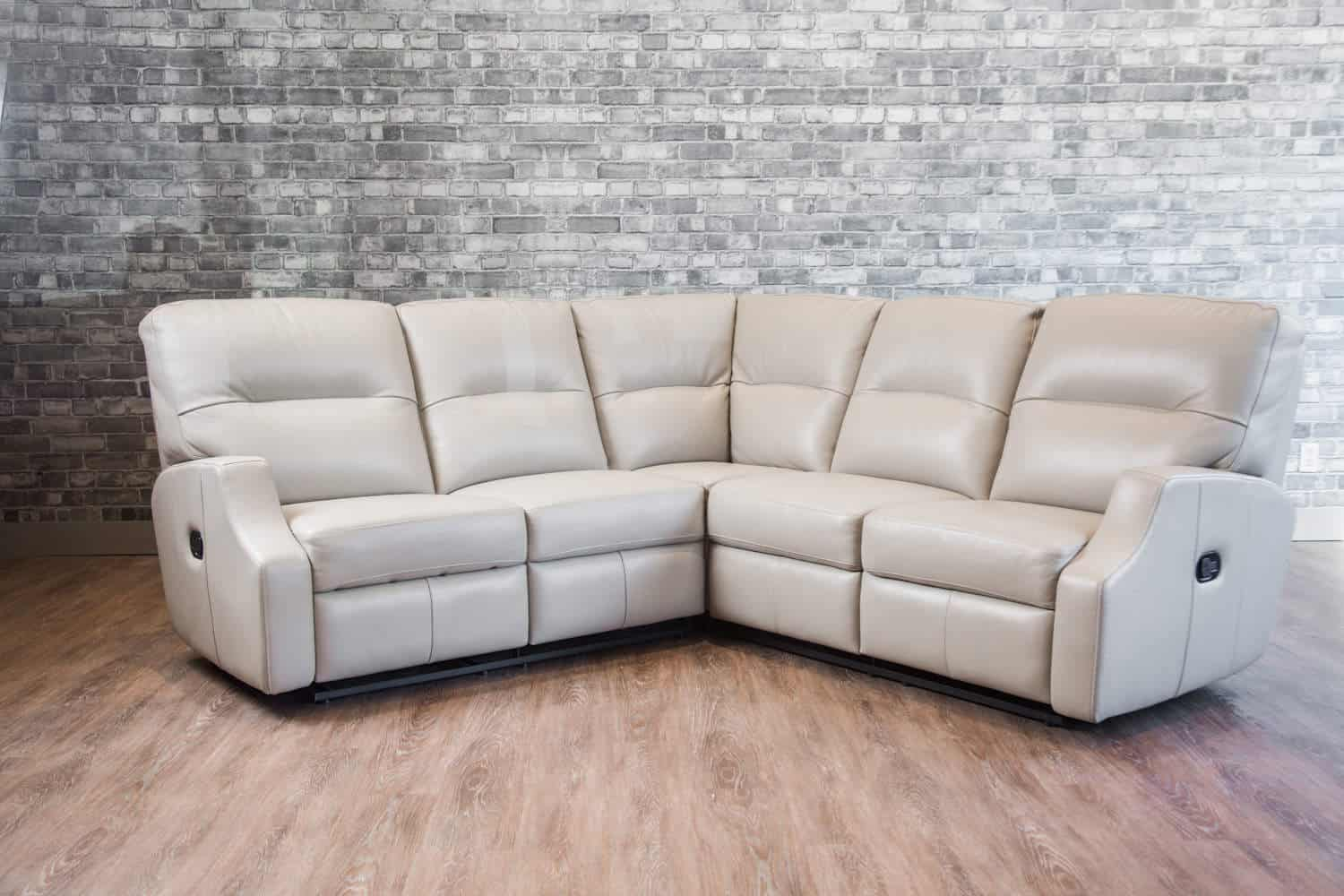 - The Saturn Reclining Leather Sectional Canada's Boss Leather