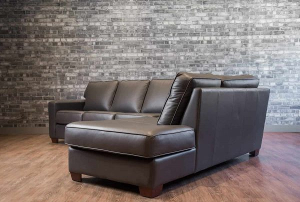 leather sectional mesa sectional