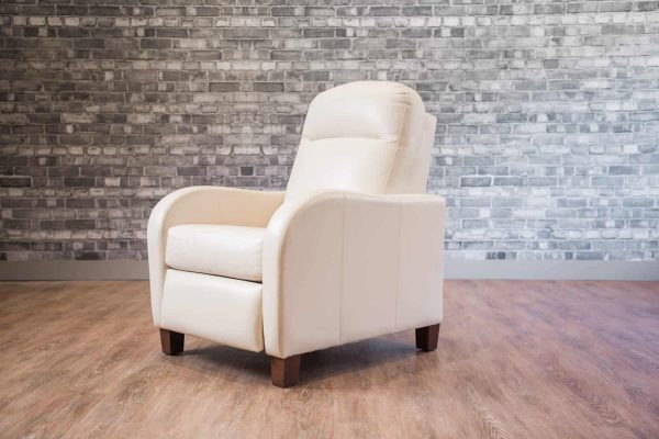 leather recliners metro recliner waterfall arm