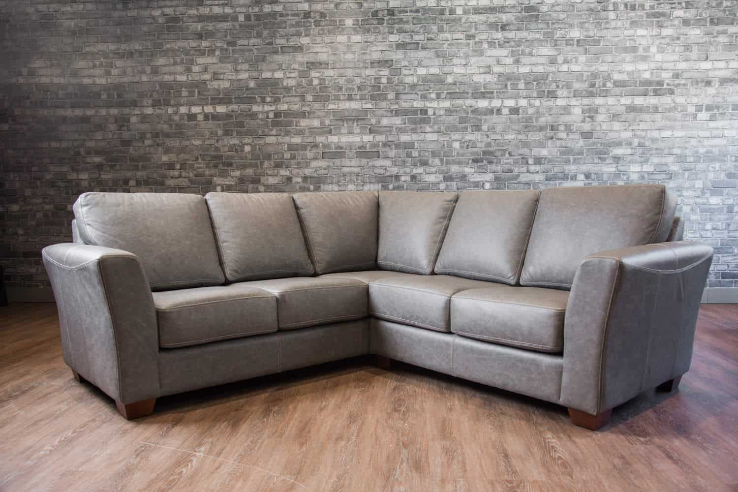 The Aspen Leather Sectional Canada S Boss Leather Sofas