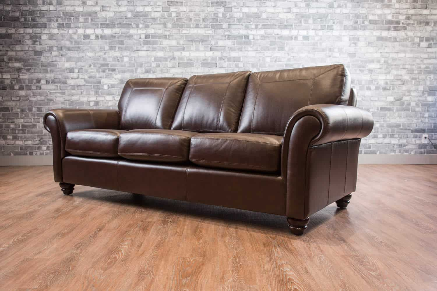 The Bella Leather Sofa Canada S Boss Leather Sofas And