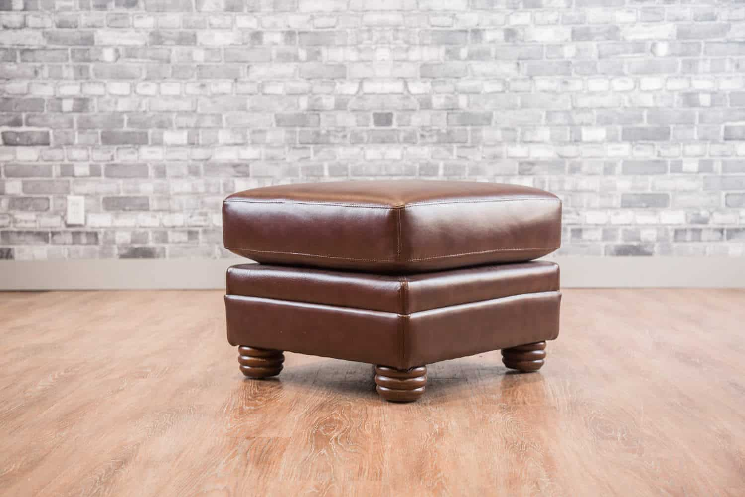 The Small Leather Ottoman Collection