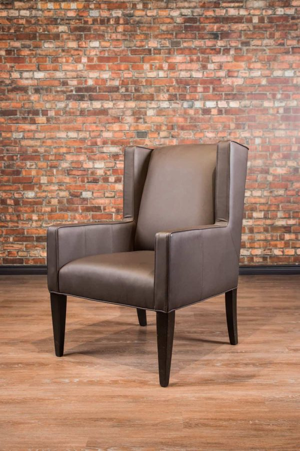 leather accent chair