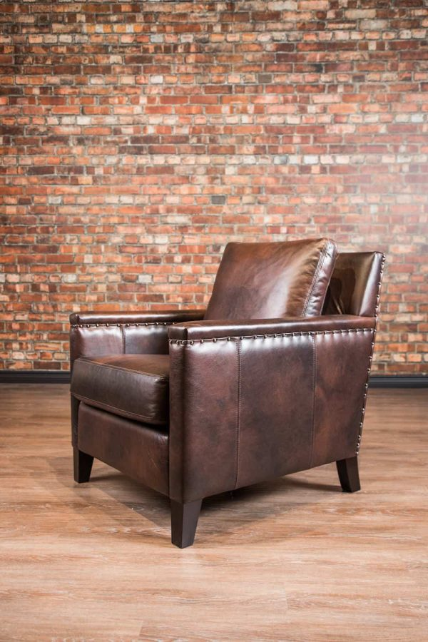 leather chair Hemingway chair